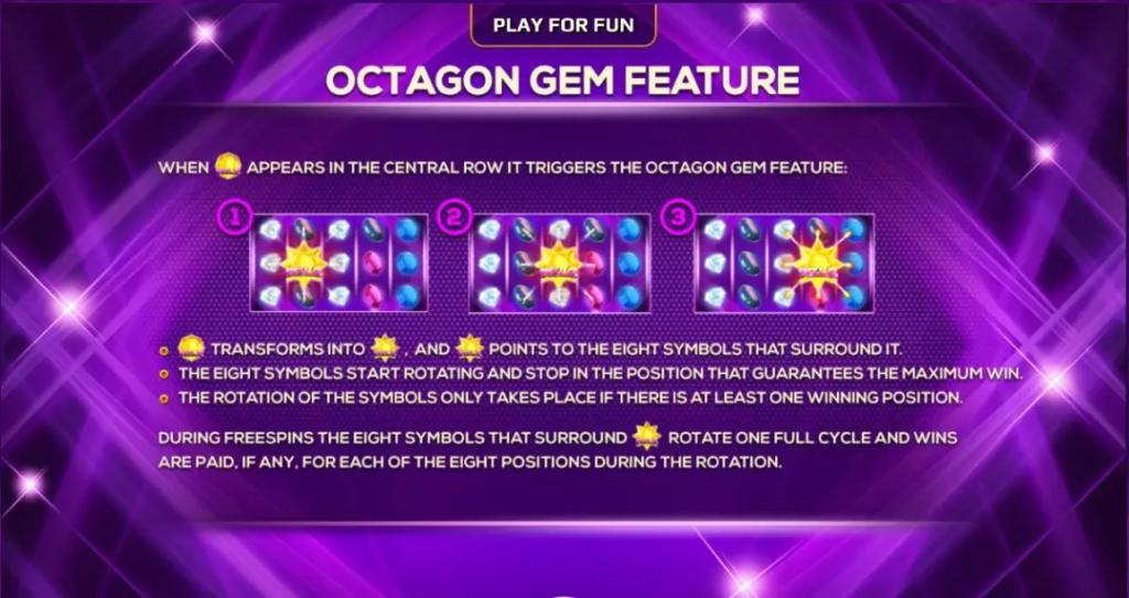 ฟีเจอร์ Octagon Gem Joker123tm