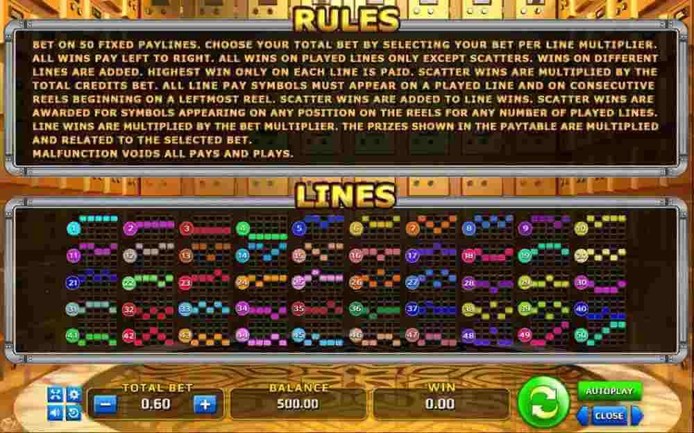 Rules Money Vault
