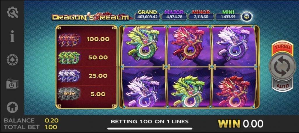 สูตรโกงเกม Slot เกมบาคาร่า Dragons Realm https://joker123tm.com/