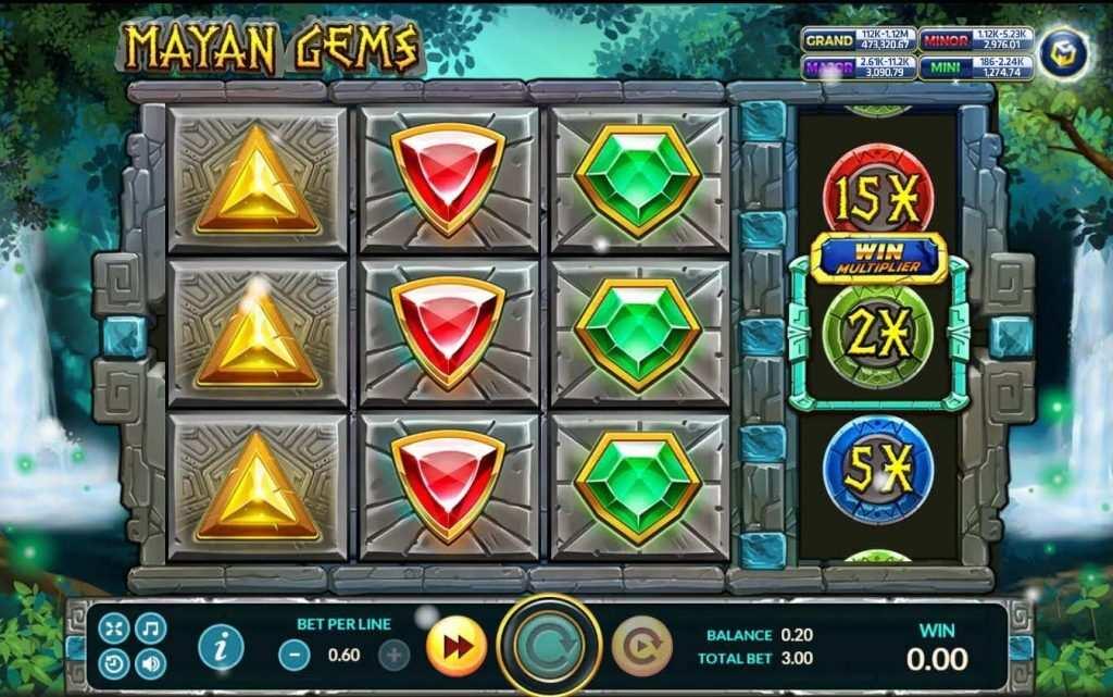 Mayan Gems เกมส์ slot แจก https://joker123tm.com/