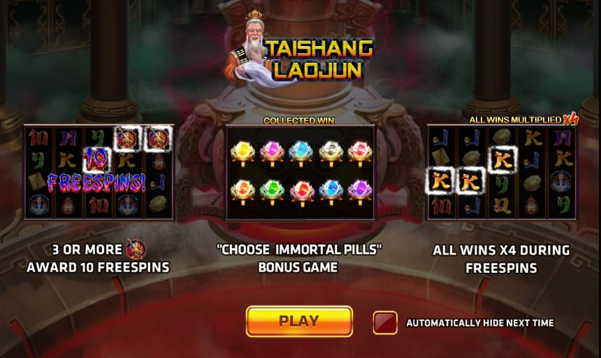 รีวิวเกม TAISHANG LAOJUN https://joker123tm.com/