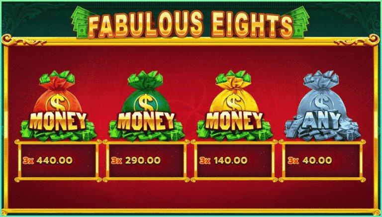 Fabulous Eights แจก ฟรี ฝากถอน https://joker123tm.com/