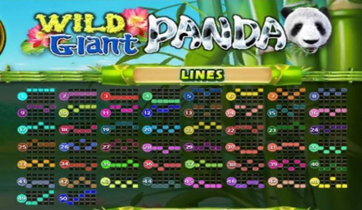 Wild giant panda เกมสล็อต Line https://lin.ee/n4tfYFI