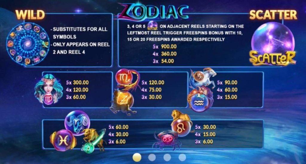 Zodiac เกมสล็อต Line https://lin.ee/n4tfYFI