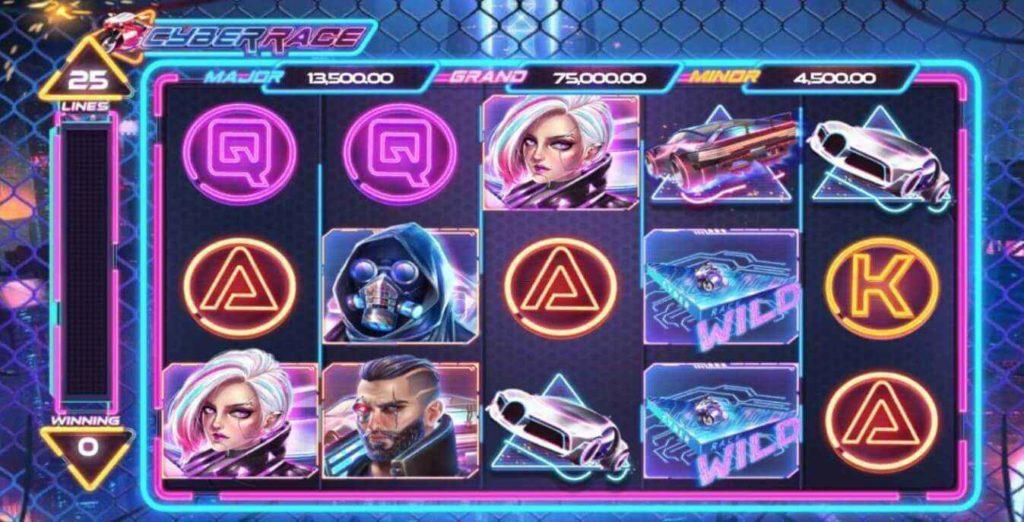 Cyber Race เกมส์ slot แจก https://joker123tm.com/
