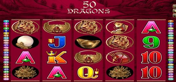 Fifty Dragons รูปแบบของเกม