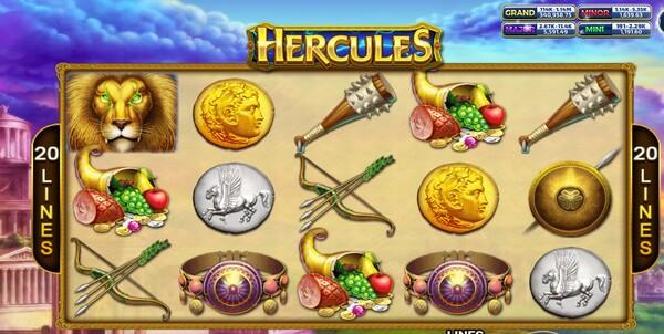 Hercules รูปแบบตัวเกม