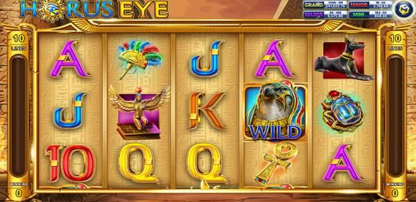 Horus Eye รูปแบบรายละเอียดของเกม