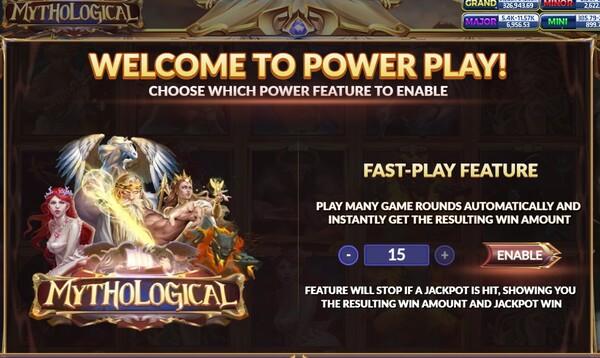 Mythological การซื้อ Power