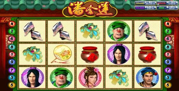 Pan Jin Lian รูปแบบของเกม