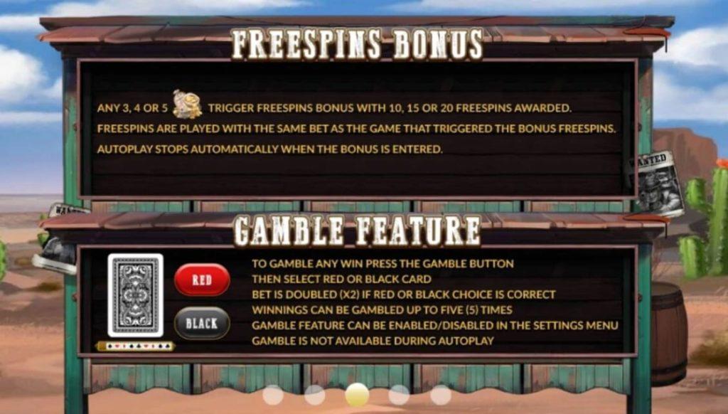 Freespins Bonus Gamble