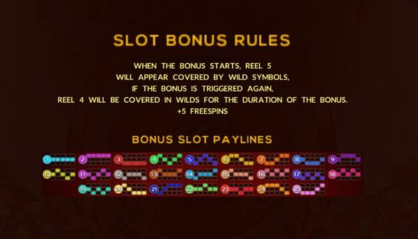 Slot Bonus Rules