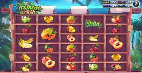 ลักษณ์ภายในเกม Tropical Crush