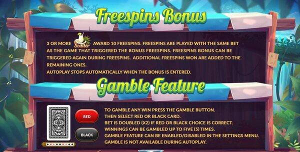 Freespins Gamble