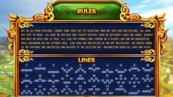 Rules & Lines